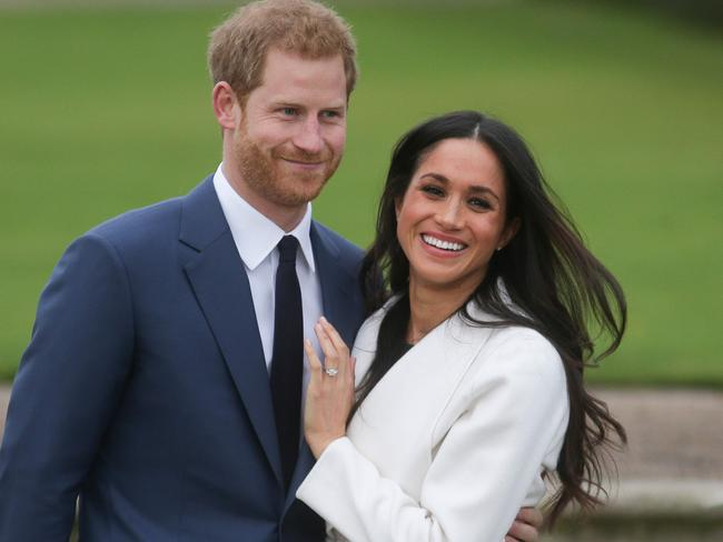 Britain's Prince Harry and Meghan Markle is on the same day as the FA Cup Final, May 19 Picture: AFP