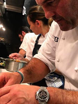 Chef Guillaume Brahimi has a big following on Instagram. Picture: Supplied