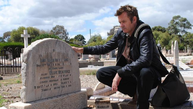Family history ... Paul McDermott discovers his past in the SBS series Who Do You Think You Are?
