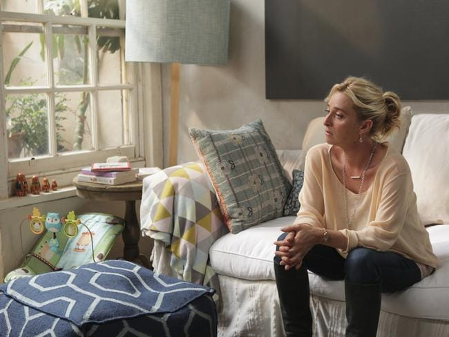 Popular character ... Nina Proudman played by Asher Keddie in Offspring. Picture: Supplied