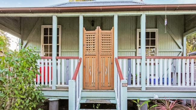 This workers cottage in Ipswich is not lacking charm. Picture: Realestate.com.au
