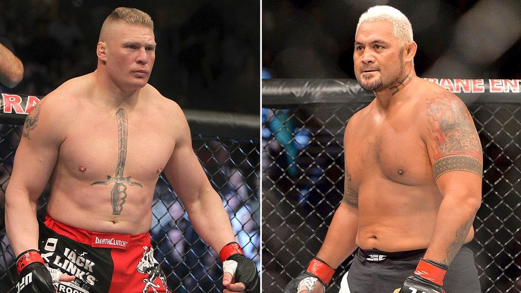 Ufc Mark Hunt Vs Brock Lesnar