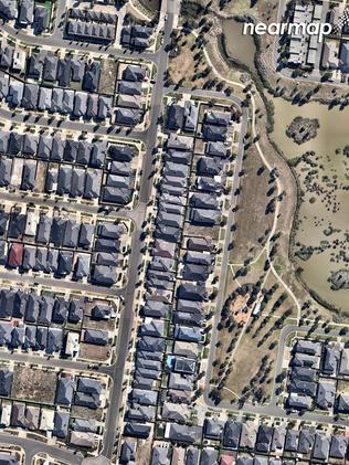 Point Cook in 2018. Picture: Nearmap