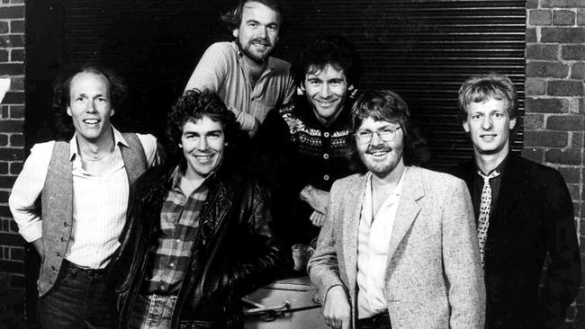 Little River Band — back row features Glenn Shorrock and Derek Pellicci. Front row is Wayne Nelson, Beeb Birtles, Graeham Goble and Stephen Housden.