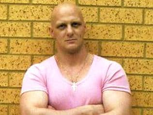 Convicted criminal Matthew Johnson, accused of murdering underworld crime figure Carl Williams in prison 18 Oct 2010.
