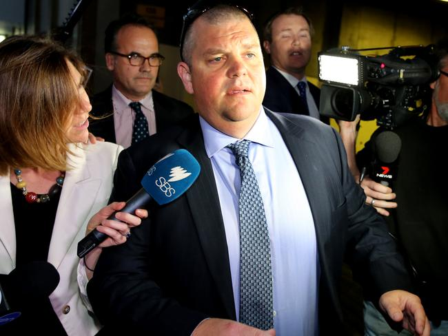 Nathan Tinkler attending an ICAC hearing in May.