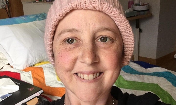 Connie Johnson has 'broken out' of hospice for a bloody fantastic reason