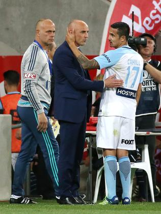 Kevin Muscat and Cahill.