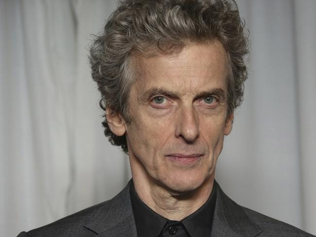 Peter Capaldi's leaving date from Doctor Who was originally slated for Christmas Day this year. Picture: AP