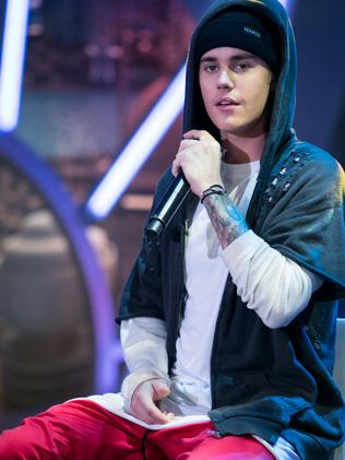 New purpose ... Justin Bieber performs on stage in Madrid, Spain. Picture: Pablo Cuadra/Getty Images