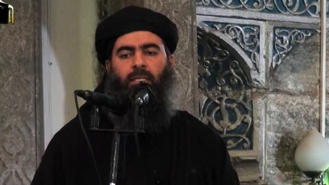 A propaganda video released on July 5, 2014 by al-Furqan Media allegedly shows the leader of the Islamic State (IS) jihadist group, Abu Bakr al-Baghdadi, aka Caliph Ibrahim, addressing Muslim worshippers.