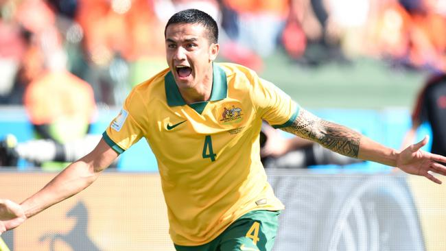 Tim Cahill's goal against the Dutch was one of the best of the tournament.
