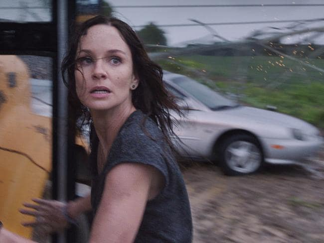 Disaster flick ... a scene from Into the Storm.