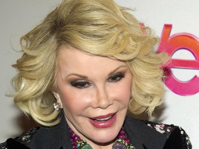 Joan Rivers made light of death hours before being rushed to hospital.