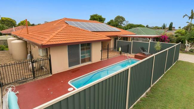 This four-bedroom home on 617 sqm at 13 Stonewood St, Algester, is for sale.