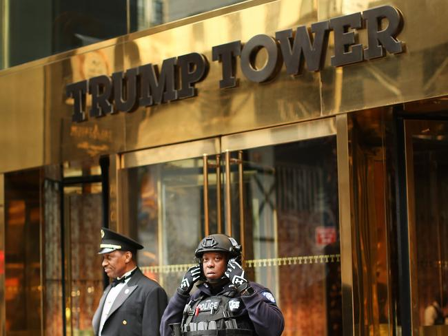 The lawsuit centres on the fact that President Trump retained ownership of his company when he became President. Picture: Getty Images/AFP