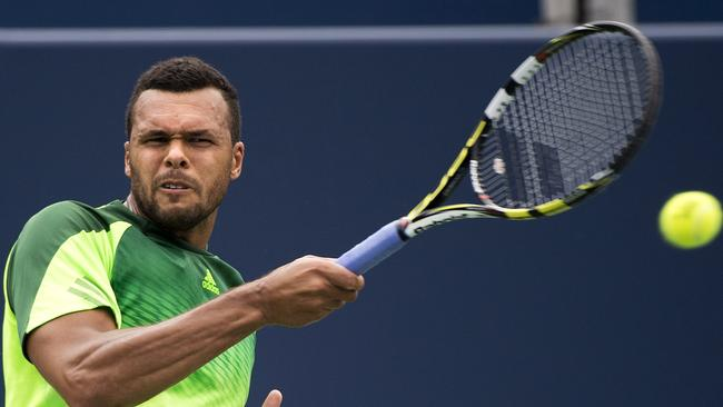 Jo-Wilfried Tsonga dropped just four games against the world No. 1