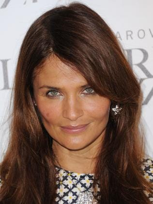 Helena Christensen: She's a real jazzer.
