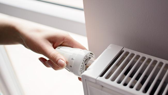 A quarter of Aussies reported using less heating over winter. Source: iStock.