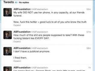 Alec Baldwin Twitter meltdown - screen save by the