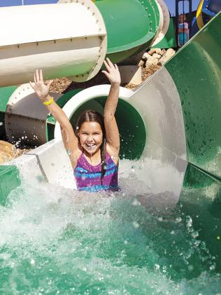 ALL SMILES: Children will enjoy Wet'n'Wild Junior.