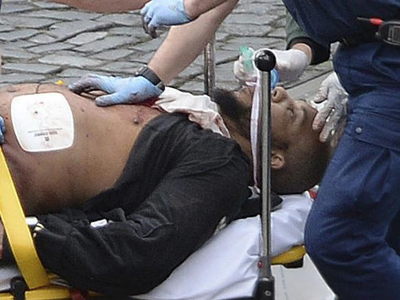 82 seconds of terror in London