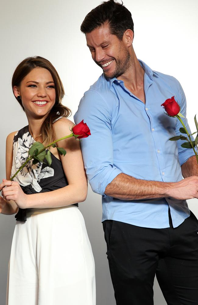 Double act ... Sam Frost and Sam Wood have revitalised The Bachelor franchise for Ten.