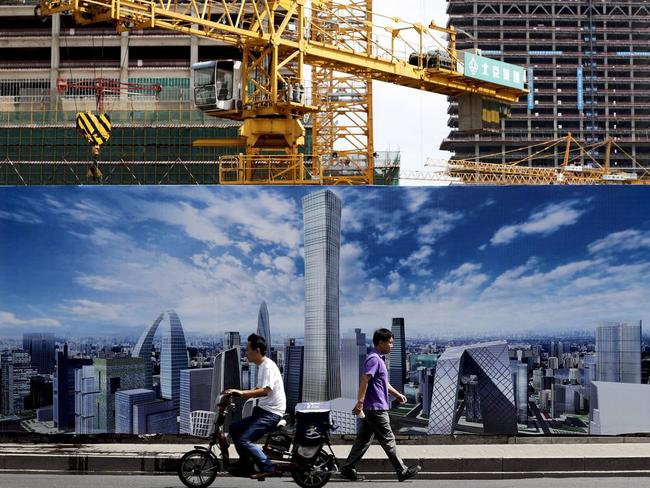 Beijing wants to keep its economy moving and open up opportunities for Chinese citizens living overseas. Picture: AP