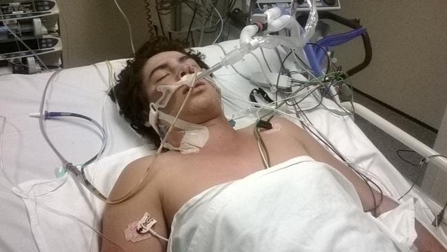 Tarryn Bowers' parents feared his would die or wake up from his coma and not recognise them.