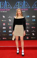Julia Jacklin arrives for the 31st Annual ARIA Awards 2017 at The Star on November 28, 2017 in Sydney, Australia. Picture: Lisa Maree Williams/Getty Images for ARIA