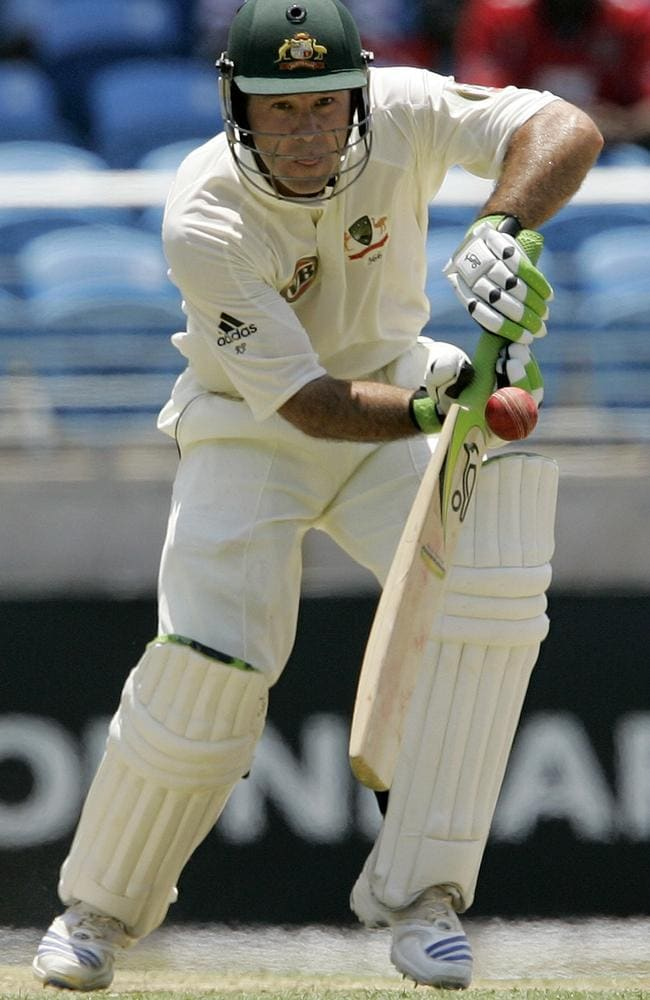 One of the greats: Ricky Ponting was the country's second best batsman. AP Photo/Andres Leighton