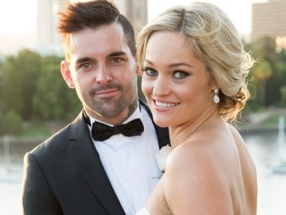 Married at First Sight couple Nicole and Keller.