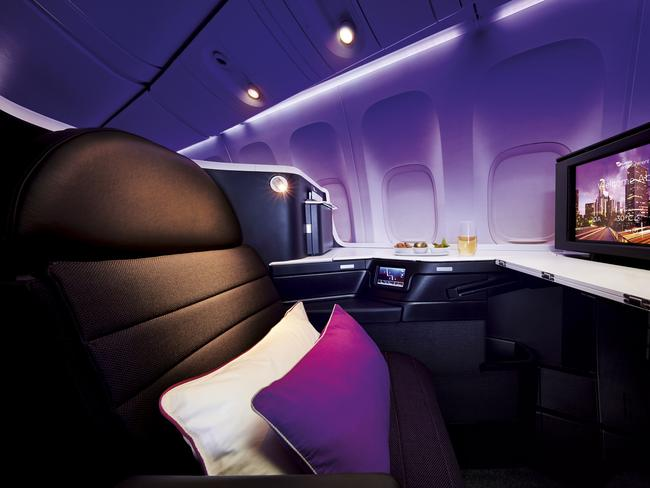Flying in Virgin Australia's The Business is a lot more affordable with frequent flyer points