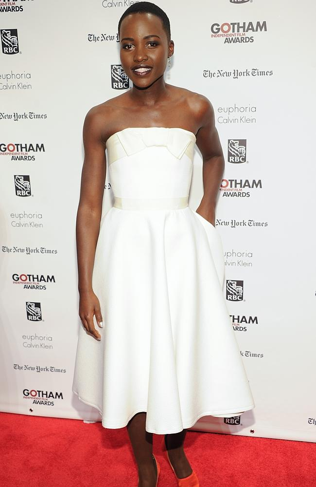 Actress Lupita Nyong'o at the 23rd Annual Gotham Independent Film Awards in New York. Picture: Evan Agostini/InvisionAP