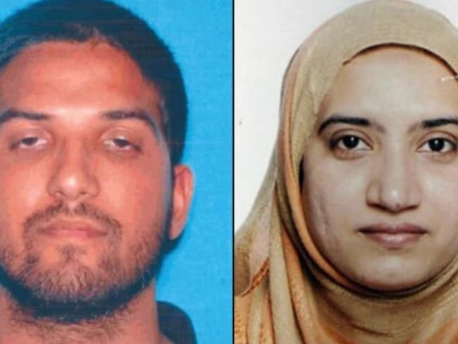 "Syed Rizwan Farook and his wife Tashfeen Malik. Picture: Supplied  <a capiid=""8b37141802cd92e83cb168cf425f049f"" class=""capi-video"">FBI Paid More Than $1 Million to Hack San Bernardino iPhone</a>"