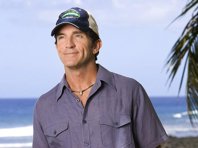 Jeff Probst pictured for Survivor: Samoa.
