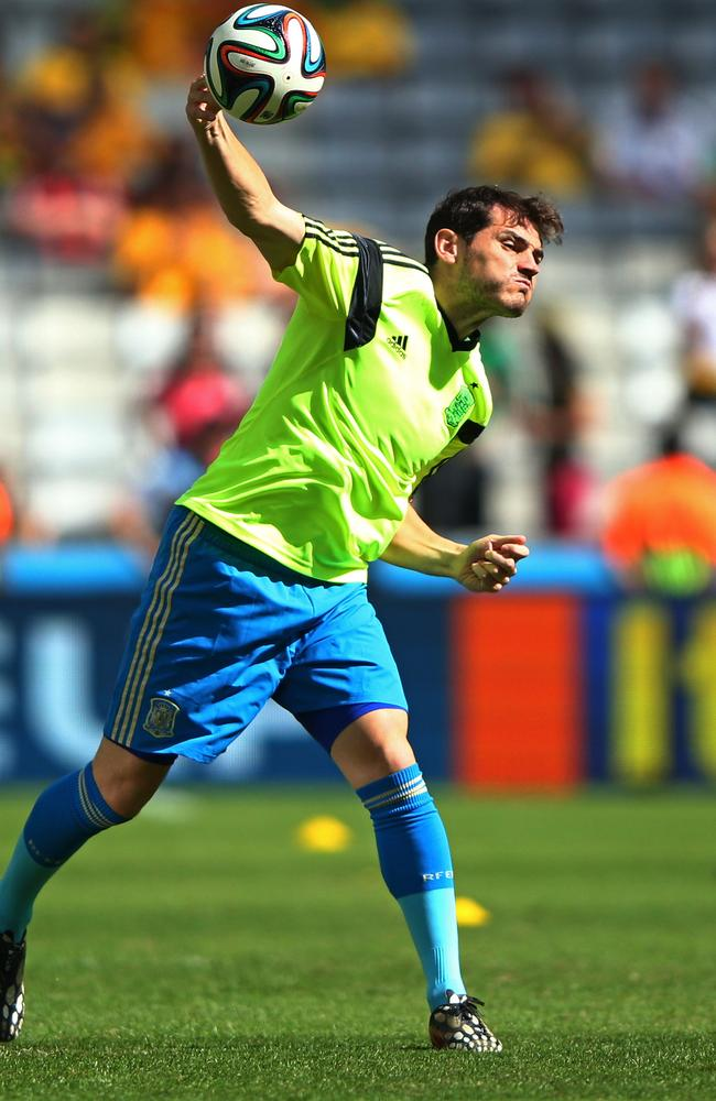 Iker Casillas has his heart set on joining Arsene Wenger's Arsenal.