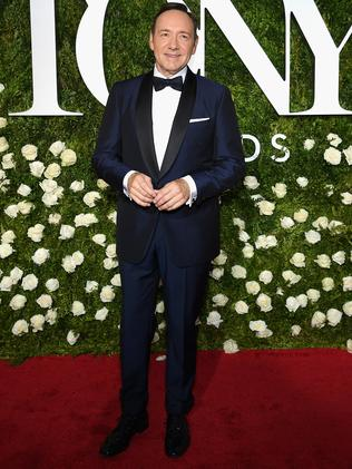 Kevin Spacey arrives at the awards.
