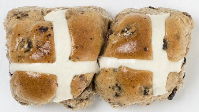 You can get away with a small hot cross bun for breakfast ... just don't go crazy with the butter.