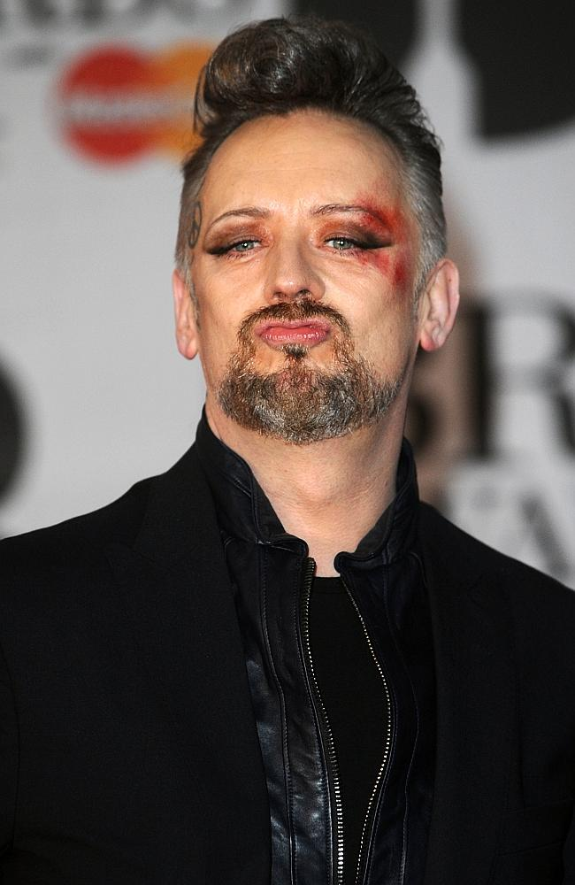 Publicity hound ... Boy George says he rocked up to the Brit Awards last month with a bla