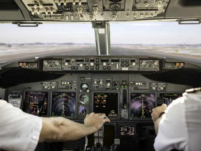 On another flight, a pilot took the mickey out of passengers complaining about the delay by saying that he would rather be late that day, than be early in the next life.