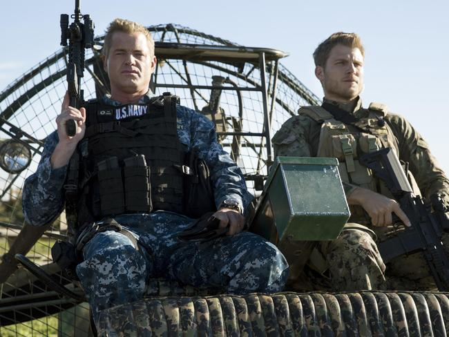 Eric Dane on his TNT show The Last Ship.