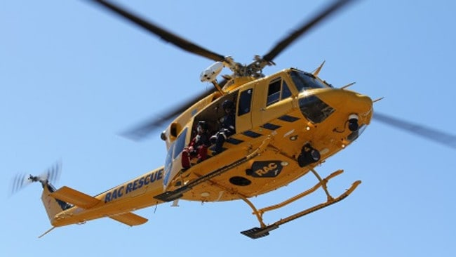 Muchea Australia  city photo : The RAC Helicopter has landed on Brand Highway, just north of Muchea ...