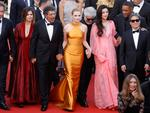 Jury members, Pedro Almodovar, Agnes Jaoui, Gabriel Yared, Jessica Chastain, President of the jury Pedro Almodovar, jury members Fan Bingbing, Will Smith Park Chan-wook attend the 70th Anniversary of the 70th annual Cannes Film Festival at Palais des Festivals on May 23, 2017 in Cannes, France. Picture: Getty