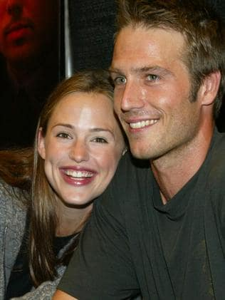 Dated ... Jennifer Garner and actor Michael Vartan. Picture: Getty