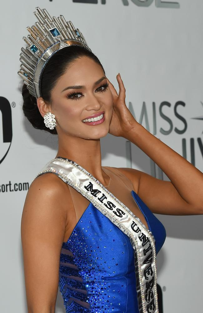 She's set ... Miss Philippines 2015, Pia Alonzo Wurtzbach, after winning the 2015 Miss Universe Pageant.