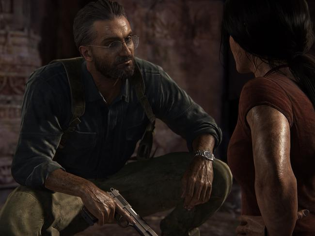 Uncharted: The Lost Legacy has an egaging storyline that should take about six to 10 hours to complete.
