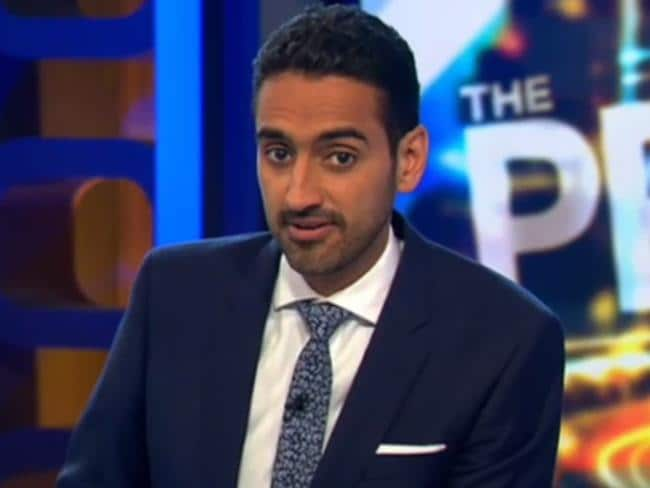 New arrival ... The Project co-host Waleed Aly is also a new arrival on the most liked list.