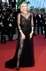 Charlize Theron attends the 70th Anniversary of the 70th annual Cannes Film Festival at Palais des Festivals on May 23, 2017 in Cannes, France. Picture: Getty