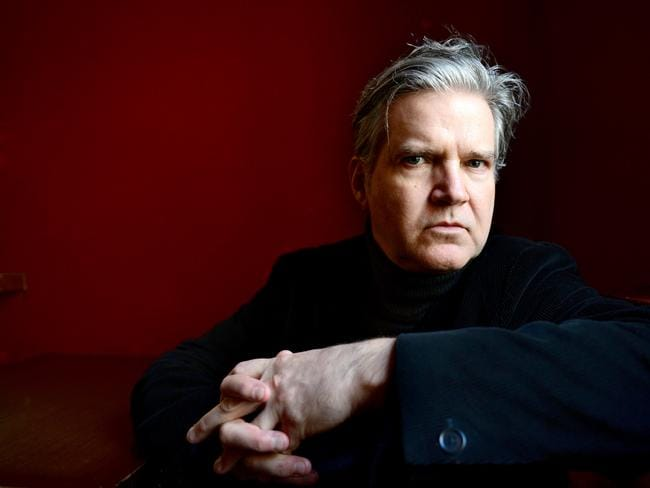 Singer-songwriter Lloyd Cole spoke at a UniSA lecture yesterday. Picture: Tricia Watkinson